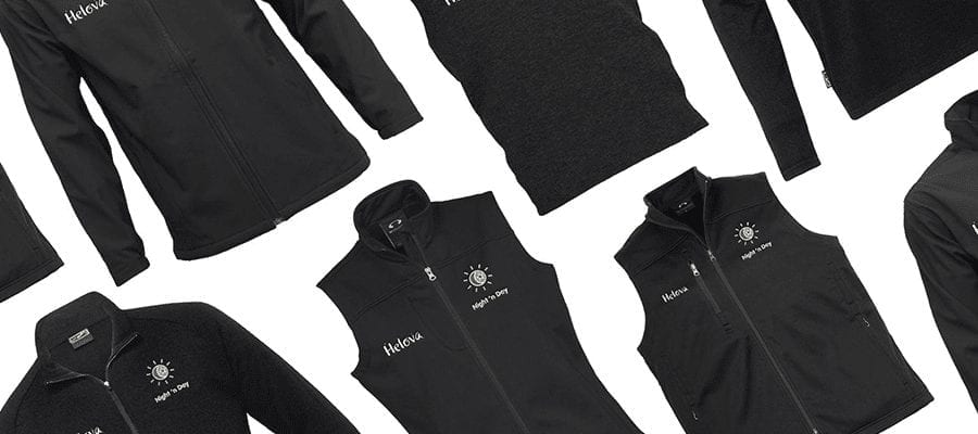Corporate uniforms - personalised work clothing